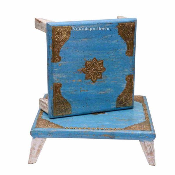 antique grinder table