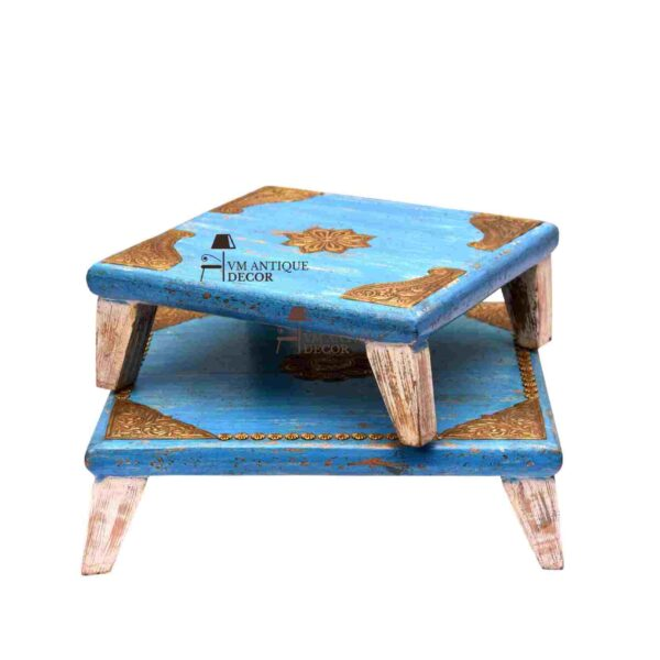 pooja chowki table