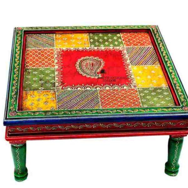 indian chowki table