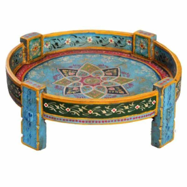 Hand Painted Chakki Table