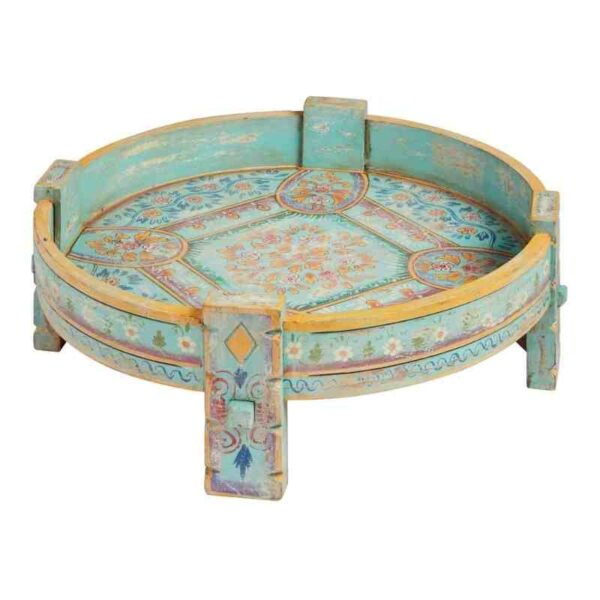 Round Chakki Table