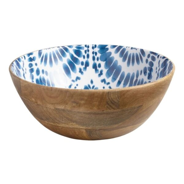 wood kitchen bowl