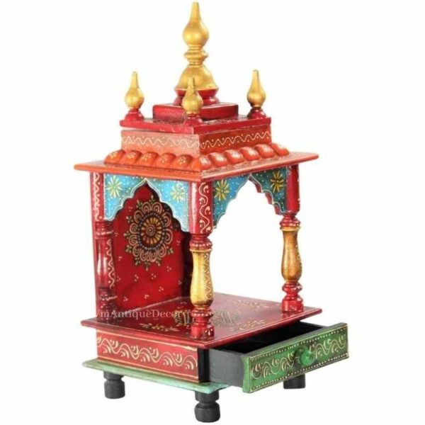 hand painted temple