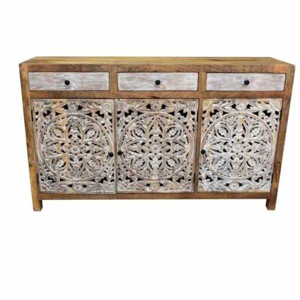 carved sideboard