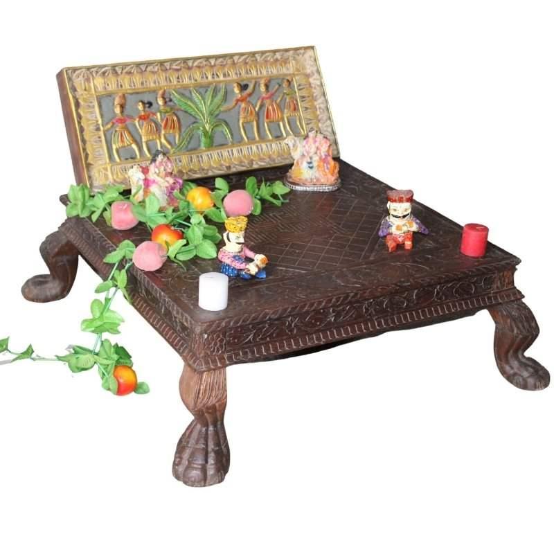 Chowki Table
