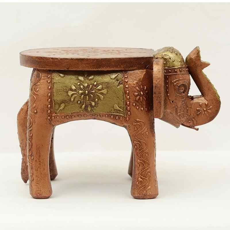 Copper Painted side Stool